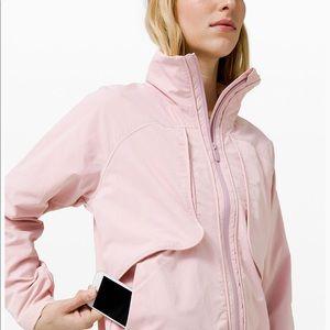 Pink Lulu Lemon Bomber Jacket